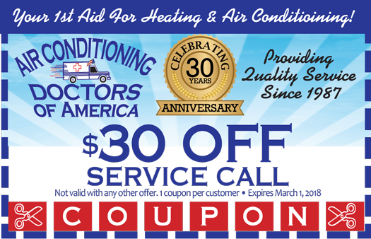 $30 Off SERVICE CALL