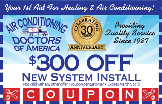 $300 Off New System Installation
